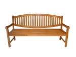kursi taman 3 dudukan dari kayu jati