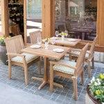 set meja makan jati resto paidi, meja makan jati, cv furniture jepara, teak resto chair,