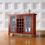 Furniture buffet wadah botol bir
