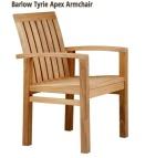 kursi makan kayu jati model Barlow
