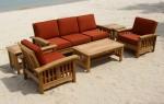 set sofa pantai tradisional jati by CV Furniture Jepara