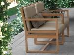 Sofa 1 seater minimalis ambon by CV Furniture Jepara
