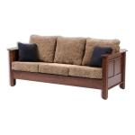 Sofa 3 dudukan jati Karmeni by CV Furniture Jepara