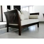 Sofa walnut jati 2 dudukan by CV Furniture Jepara