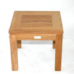 Meja Sudut Kayu Jati Model Dakkar Cv Furniture Jepara