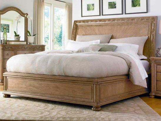 set tempat tidur king belanda cream