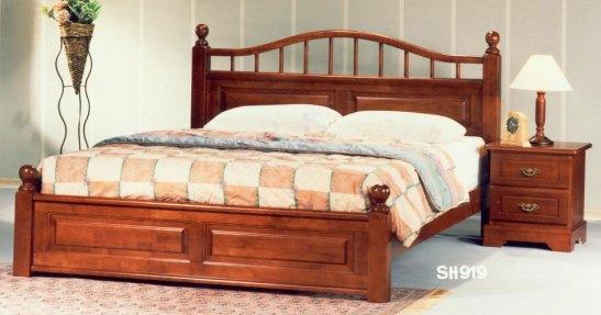 set tempat tidur miri mahoni