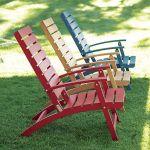 set kursi lipat warna warni