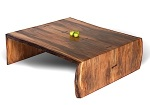 Meja Kopi rendah kayu Trembesi