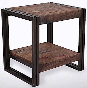 Meja Sudut Kaki Besi Cv Furniture Jepara