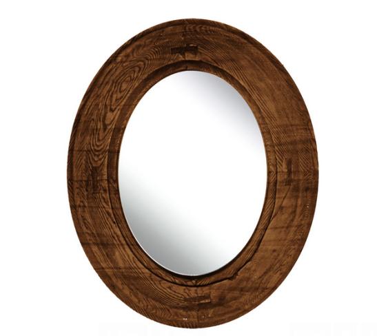cermin elips jati