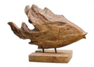 dekorasi kepala ikan