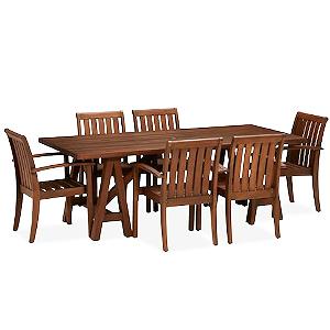 kursi makan set jati stackingan - cv furniture jepara