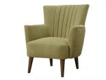 kursi santai bekasi hijau lumut
