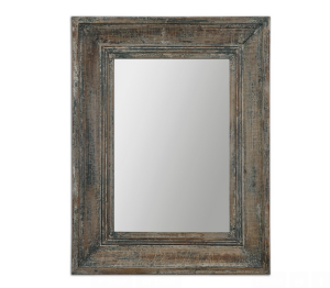 mirror antik rustik jati