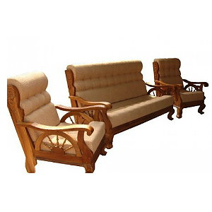 set kursi sofa tamu jati kaki dokar