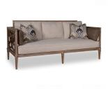 sofa whitewash antik