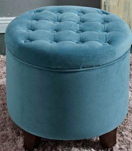 stool sofa biru
