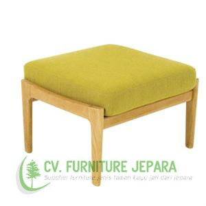 stool with cushion teak